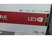 """42"""" LG LED TV with Freeview HD"""