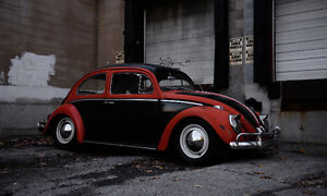 1963 VW beetle *lowered*
