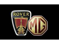 MG Rover breakers.