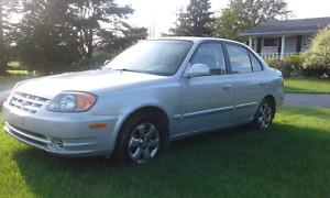 $1900  Hyundai Accent GL 2004