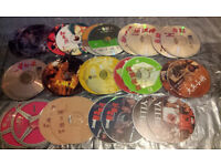 ALL VCD HONG KONG MOVIES - CANTONESE & MANDERIN USED IN EXCELLENT CONDITIONS