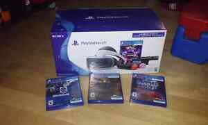 Psvr launch bundle with 3 extra game Kingston Kingston Area image 2