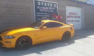 "Steve's Autoshine""Tint Your Ride!""+""Get Your Shine On!"""