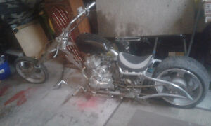 Custom built Chopper ..must see $1800obo