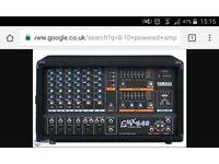 Yamaha emx 640 10 channel amplifier