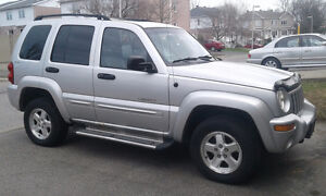 2002 Jeep Liberty Limited Edition (échange/exchange possible)