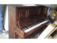Piano upright, EASY ground floor access, Cons & Cons circa 1940's offers taken