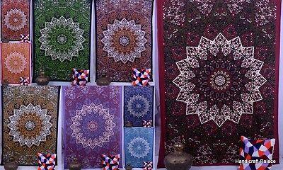 Mandala Tapestry Wall Hanging Indian Hippie Dorm ...