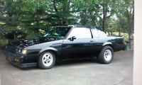 1981 Buick Regal GNX clone race car sell or trade