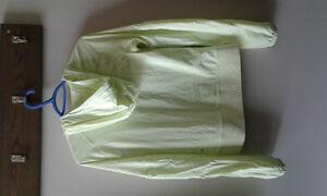 Lululemon hoodie/ north face rain jacket