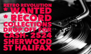 Used * Record Collections * at Retro Revolution Records