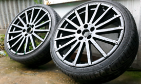"**19"" GENUINE FORD RS ALLOY WHEELS 5X108 FORD PEUGEOT VOLVO CITREON JA"