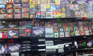 Nous vendons, Nes,Super,N64,Ps1-2-3-4,Wii,Ds,Gc,Xbox,