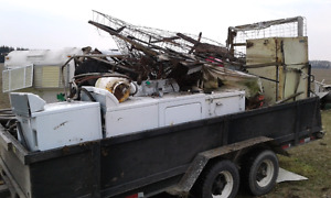 WILL BUY SCRAP METAL AND OTHER ITEMS AND PICK UP