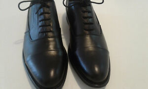 New Genuine leather Black shoes size 10.5-10