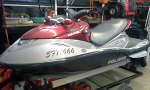 POLARIS MSX140 with TRAILER and COVER