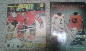 OPC '88 Sticker Book & Esso NHL All-Star Collection