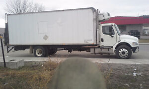 24 ft. 5 Ton Freightliner with Reefer