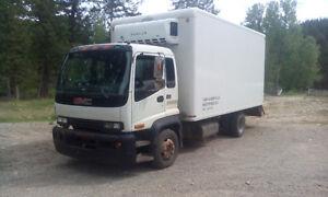 1998 GMC T6500 Reefer Van