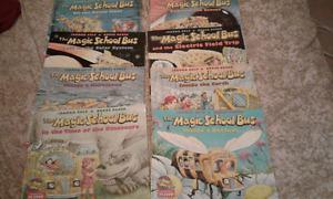8 magic school bus books 1996