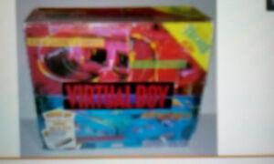 1995 Nintendo 3D  Virtual Boy game system.