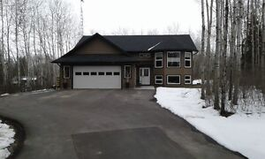 New home on Moose Lake with warranty