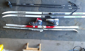 Cross country skis x 2