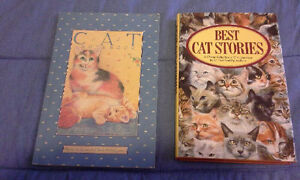 Cat Plaque+ Variety of Cat Books for Sale