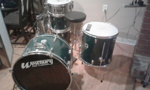 Westbury custom drum set