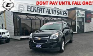 2015 Chevrolet Equinox LS WITH SUMMER AND WINTER TIRES