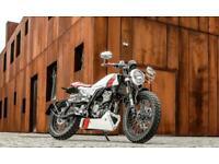 Mondial Hps 125 cafe racer.70 reg,NEW BIKE,2 YRS WARRANTY,RED/WHITE. 6.9% APR