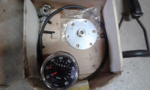 speedometer and gear