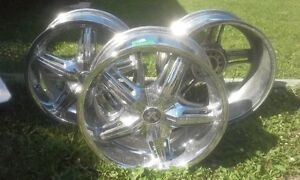 "18"" Dub Drone Chrome 5 spoke"