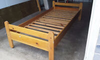 Single Bed All Wood