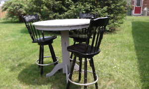 Bistro Style Table