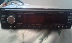 Clarion mp3 wma in dash stereo