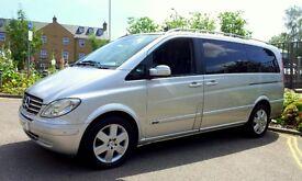 Mercedes Viano 2.2 CDI Ambiente Automatic (Ex Long) in Silver 2007