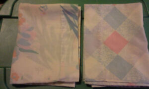 3 Single Pillow Cases for Sale
