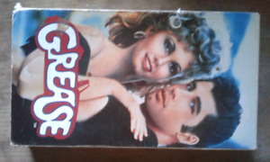 Grease vhs