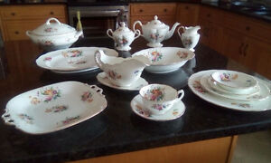 Antique Coalport China Set for 8