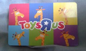 75$ Toys R US Card for 65$