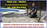 Pave Uni - Reparations/Installation a Laval/Rive-Nord