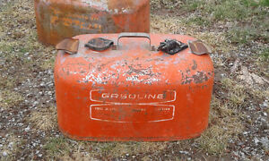 Two Vintage Boat Gas Cans