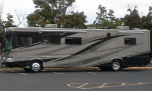 Rent 40' Motor home. Lots of NEW EQUIP with road side