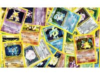 WANTED old Pokemon card collections