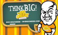 Big cheese poutine franchise available