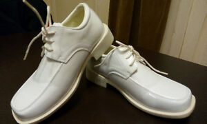 Boys' White Dress Shoes (Size 11-1/2) - Designer by Danuccelli