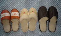 new leather sleepers, different sizes