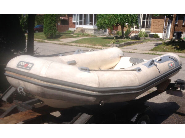 Used 2005 Other Avon Rover 310 RIB and Nissan 9.8 -2 stroke outboa