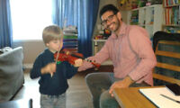 Violin in-home lessons